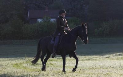 Camilla på Flisan en tidig morgon den 20 maj 2015.