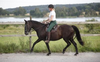 Camilla tränar Flisan. 10 augusti 2015.