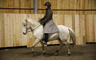 Camilla tränar Mille. 3 januari 2021