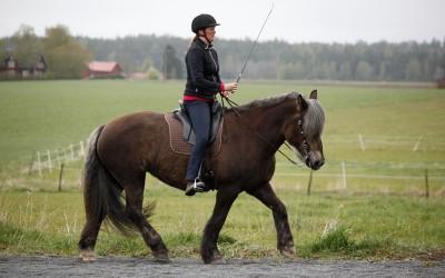 Camilla på Safir. 10 maj 2014.
