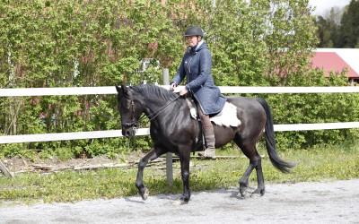 Camilla travar Flisan. 17 maj 2015.