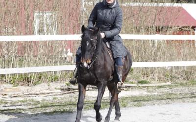 Camilla och Excell. 20 april 2015.