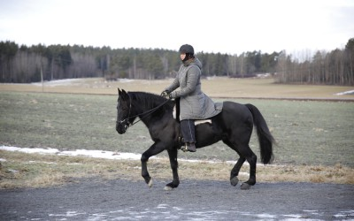 Camilla tränar Flisan 21 januari 2017.